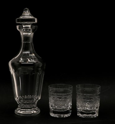 Lot 72 - A boxed Waterford crystal glass decanter