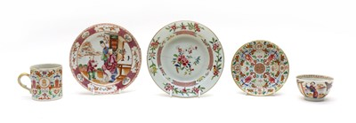 Lot 84 - A collection of Chinese famille rose