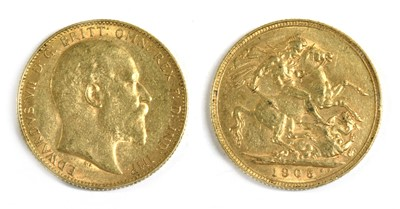 Lot 41 - Coins, Australia, Edward VII (1901-1910)