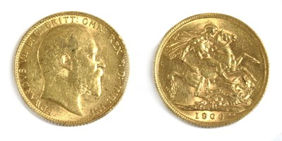 Lot 17 - Coins, Great Britain, Edward VII (1901-1910)