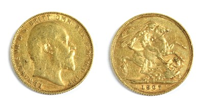 Lot 19 - Coins, Great Britain, Edward VII (1901-1910)