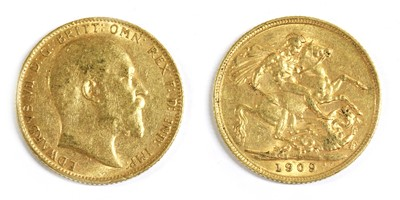 Lot 21 - Coins, Great Britain, Edward VII (1901-1910)