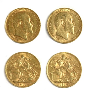 Lot 23 - Coins, Great Britain, Edward VII (1901-1910)