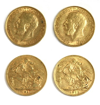 Lot 25 - Coins, Great Britain, George V (1910-1936)