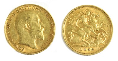 Lot 18 - Coins, Great Britain, Edward VII (1901-1910)