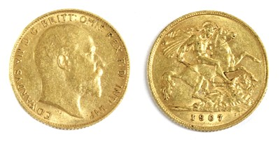 Lot 20 - Coins, Great Britain, Edward VII (1901-1910)