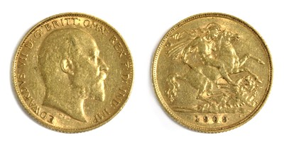 Lot 22 - Coins, Great Britain, Edward VII (1901-1910)