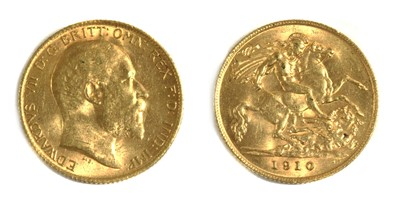 Lot 24 - Coins, Great Britain, Edward VII (1901-1910)