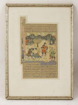 Lot 127 - Persian School (17th century)