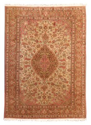 Lot 405 - A Persian Qum rug