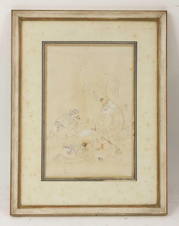 Lot 84 - A Safavid drawing