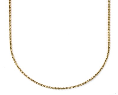 Lot 61 - A gold trace link chain