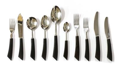 Lot 359 - An eight-setting Mappin & Webb cutlery canteen