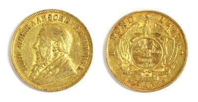 Lot 43 - Coins, South Africa