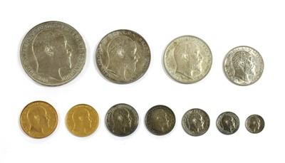 Lot 15 - Coins, Great Britain, Edward VII (1901-1910)