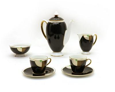 Lot 161 - A Royal Doulton Tango coffee set