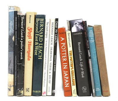 Lot 322 - A collection of books relating to studio ceramics