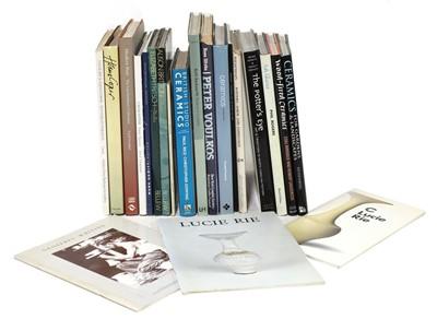 Lot 320 - A collection of modern studio ceramics books