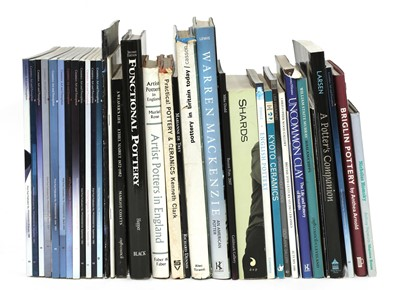 Lot 321 - A collection of modern studio ceramics books, catalogues and exhibition booklets (qty.)