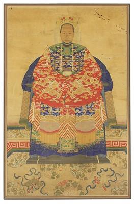 Lot 87A - A Chinese ancestor portrait