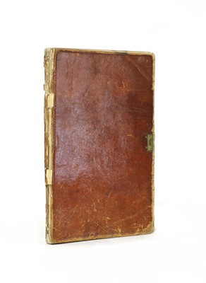 Lot 148 - 1827 continental TRAVEL DIARY.