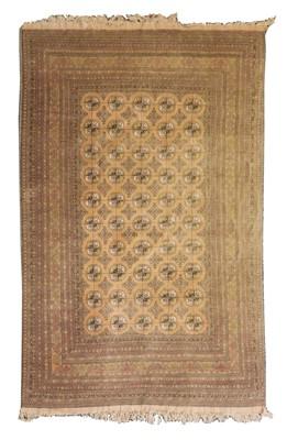 Lot 518 - A large Afghan carpet