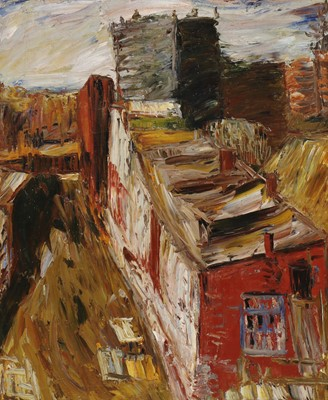 Lot 194 - Attributed to Alexander Drevin (Latvian-Russian, 1889-1938)