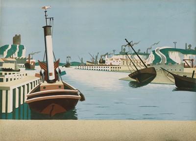 Lot 164 - Edward Wadsworth ARA (1889-1949)
