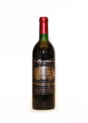 Lot 87 - Chateau Palmer, 3eme Cru Classe, Margaux, 1985, one bottle