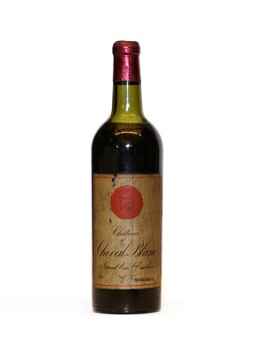 Lot 90 - Chateau Cheval Blanc, Saint Emilion 1er Grand Cru Classe, 1947, one bottle