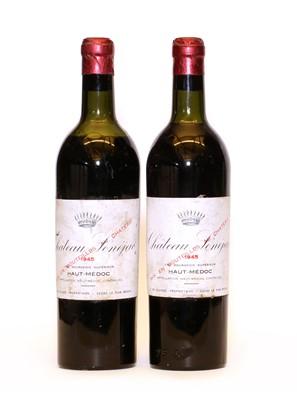 Lot 93 - Chateau Senejac, Haut Medoc, Cru Bourgeois, 1945, two bottles