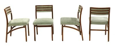 Lot 507 - A set of eight Italian teak 'Model 110' dining chairs