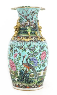 Lot 36 - A Chinese famille rose vase