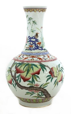 Lot 57 - A Chinese famille rose vase