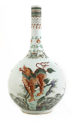 Lot 53 - A Chinese famille verte vase
