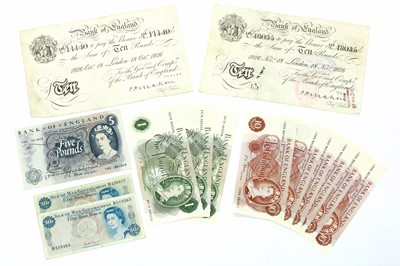 Lot 60 - Banknotes, Great Britain, George V (1910-1936)