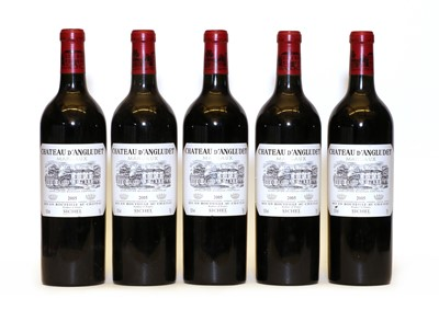 Lot 95 - Chateau d'Angludet, Margaux, Cru Bourgeois, 2005, five bottles