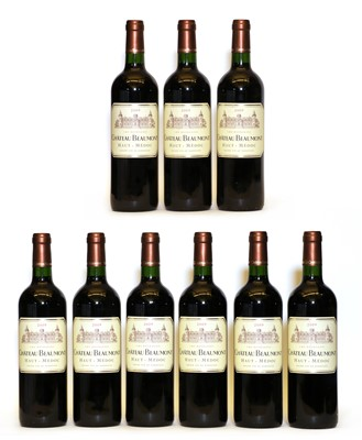 Lot 99 - Chateau Beaumont, Haut Medoc, Cru Bourgeois, 2009, nine bottles