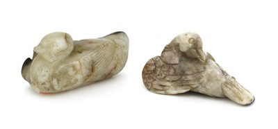 Lot 76 - A Chinese jade carving