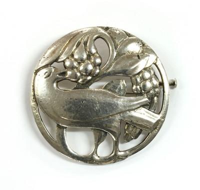 Lot 38 - A Dutch silver brooch, by Hooijkaas