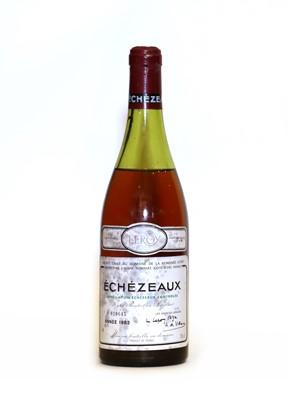 Lot 47 - Echezeaux, Grand Cru, Domaine de la Romanee Conti, 1982, one bottle