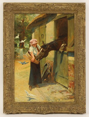 Lot 9 - Carlton Alfred Smith (1853-1946)