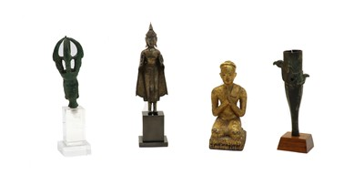 Lot 112 - A collection of metalworks