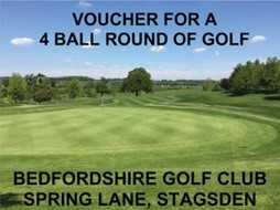 Lot 30 - A four-ball round of golf at Bedfordshire Golf Club, Spring Lane, Stagsden