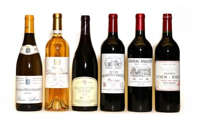 Lot 26 - Assorted Bordeaux and Burgundy wine