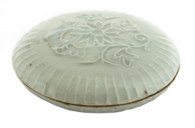 Lot 13 - A Chinese qingbai box and cover