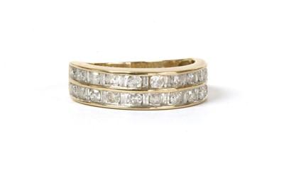 Lot 95 - A gold diamond eternity ring