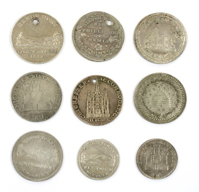 Lot 84 - Tokens, Great Britain, Sussex