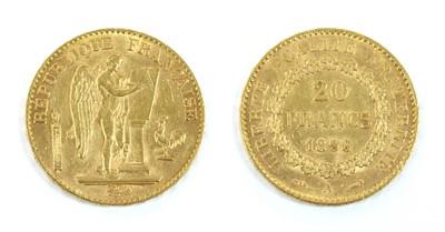 Lot 42 - Coins, France, Third Republic