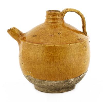Lot 2 - A Chinese pottery ewer